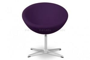 siège oeuf de bureau lilas