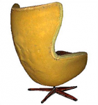 fauteuil egg jacobsen - siège oeuf