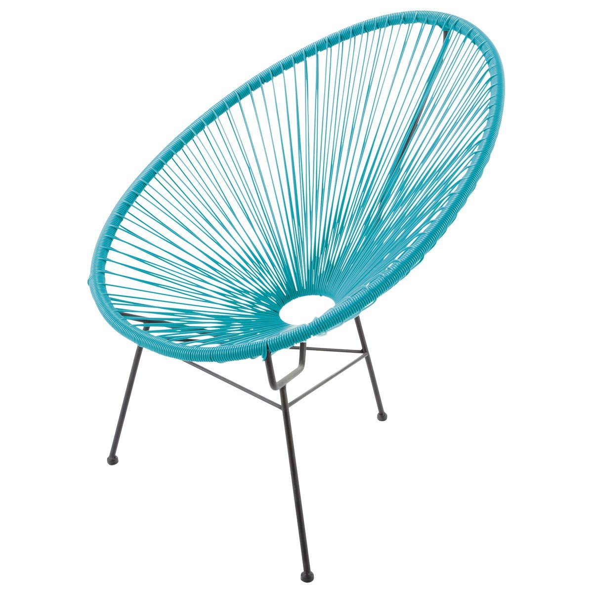fauteuil oeuf corde