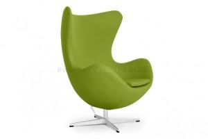 fauteuil egg jacobsen vert